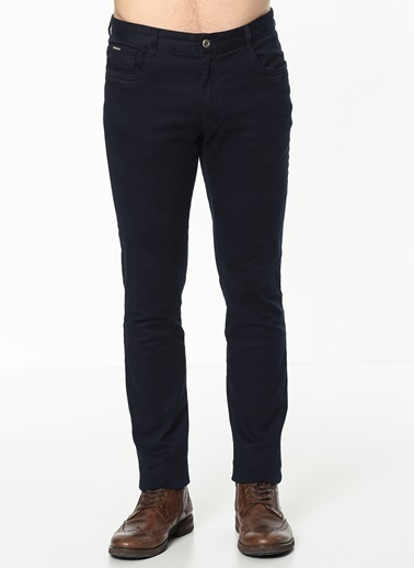 Koton Slim Fit Pantolon Lacivert